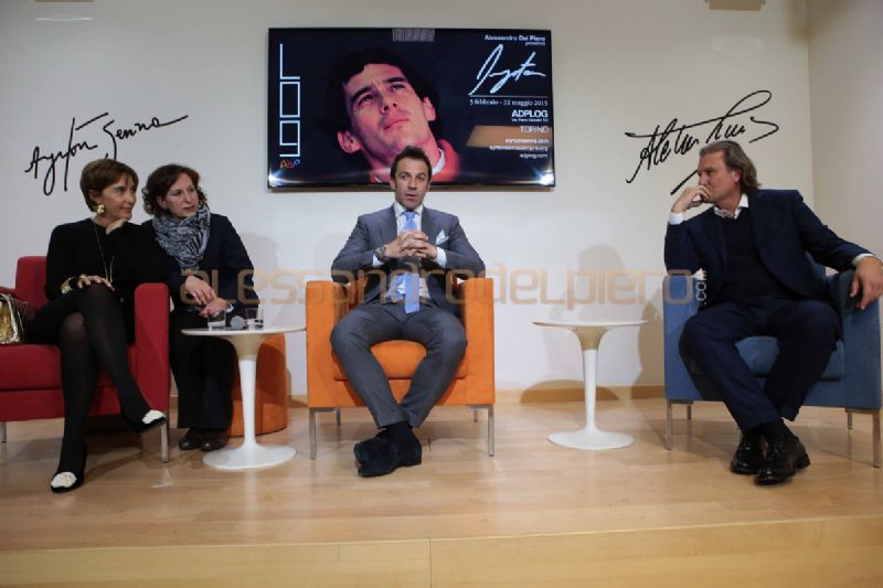 "Inauguration of the ""Ayrton"" exhibition"